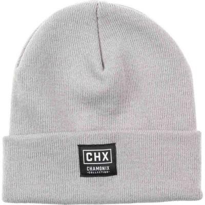 シャモニー Chamonix メンズ ニット ビーニー 帽子 Uni Beanie Grey Heather