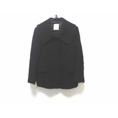 ボンメルスリー Bon mercerie ジャケット サイズ38 M レディース 黒【中古】