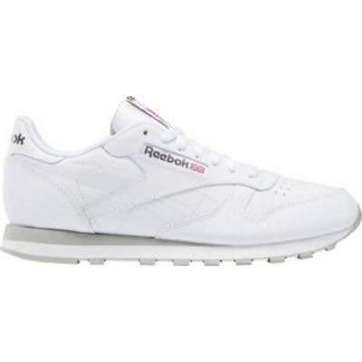 リーボック メンズ スニーカー シューズ Reebok Men's CL Leather Shoes White