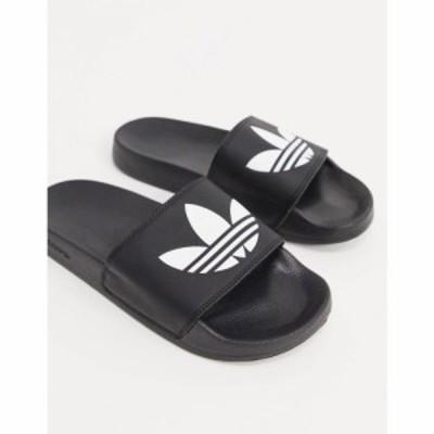 アディダス adidas Originals メンズ サンダル シューズ・靴 adilette slides in black ブラック