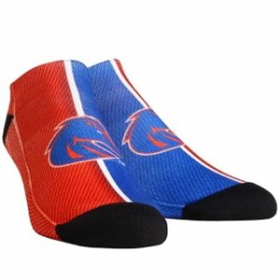 Rock Em ロックイーエム スポーツ用品  Boise State Broncos Youth Campus Stripe Ankle Socks