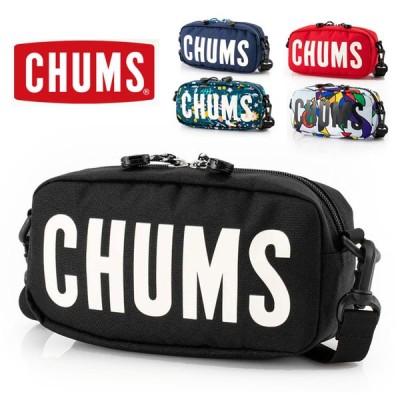 チャムス ショルダーバッグ メンズ レディース 秋冬 CHUMS エコチャムス ロゴ ショルダーポーチ CH60-3023 秋冬 秋 冬