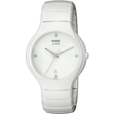 Rado Women's R27695712 True Jubile Analog Display Swiss Quartz White W