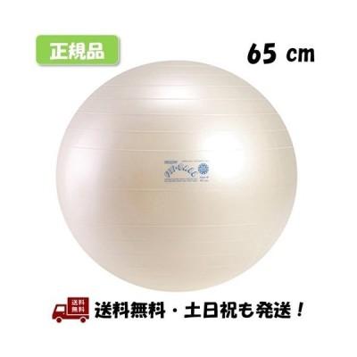 ギムニク (GYMNIC) フィットボール 65 バランスボール Fit Ball 65cm パールホワイト -正規品-