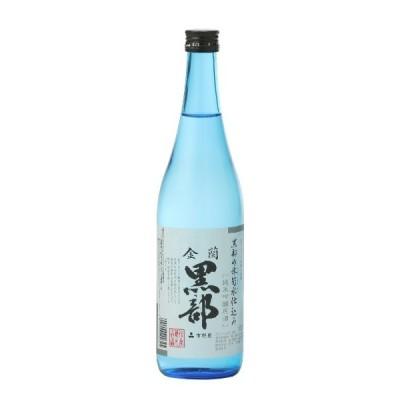 金蘭黒部 氷筍水仕込 純米吟醸原酒 720ml