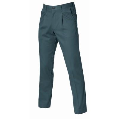 BURTLE バートル 8013 ワンタックパンツ デューク 82サイズ 秋冬用 メンズ ズボン 防縮 綿素材 作業服 作業着 8011シリーズ