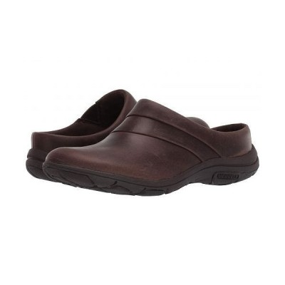 Merrell メレル レディース 女性用 シューズ 靴 クロッグ Dassie Stitch Slide - Espresso
