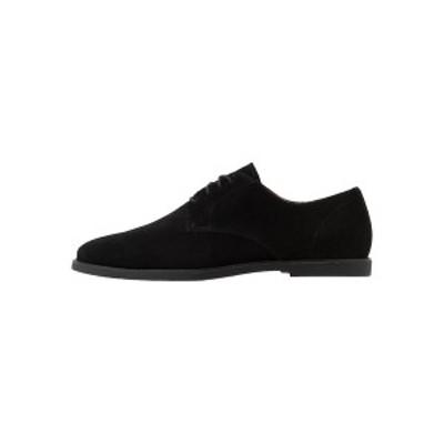 ジン メンズ ドレスシューズ シューズ Smart lace-ups - black black
