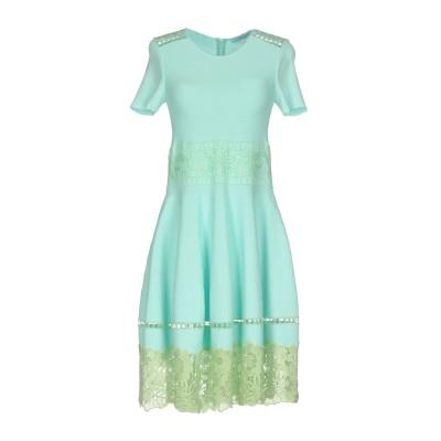 ブルマリン BLUMARINE ミニワンピース&ドレス ライトグリーン 38 レーヨン 75% / ナイロン 25% ミニワンピース&ドレス