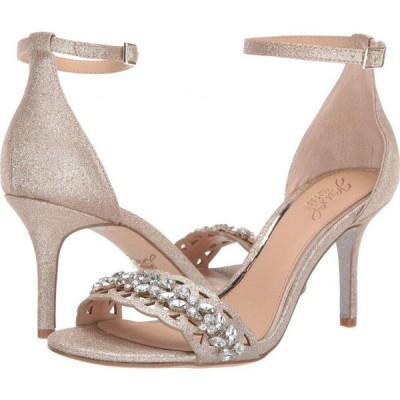 バッジェリー ミシュカ Jewel Badgley Mischka レディース サンダル・ミュール シューズ・靴 Kirsten Light Gold