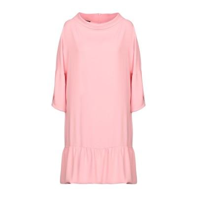 BOUTIQUE MOSCHINO ミニワンピース&ドレス ピンク 38 トリアセテート 82% / ポリエステル 18% ミニワンピース&ドレス