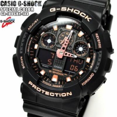 カシオ CASIO Gショック G-SHOCK クオーツ メンズ 腕時計 GA-100GBX-1A4 ブラック×ブロンズ 【激安】 【SALE】