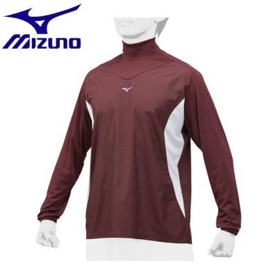 ◆◆ <ミズノ> MIZUNO トレーニングジャケット[ユニセックス] 12JE8J32 (63:エンジ×ホワイト)