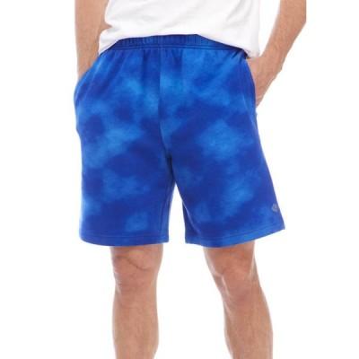 ゼロス メンズ ハーフパンツ・ショーツ ボトムス Tie Dye Pocketed Fleece Shorts