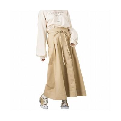 【マックハウス】 Howdy Marie ハウディーマリー ステッチスカート GL-1231375 レディース イエロー M MAC HOUSE
