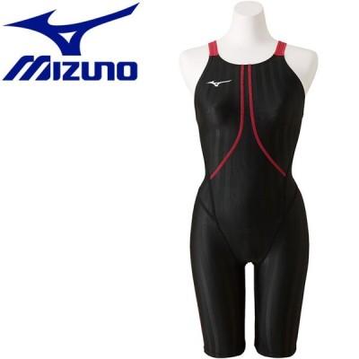 ミズノ 水泳 ストリームアクセラ ハーフスーツ 競技水着 ジュニア ガールズ N2MG842397 返品不可