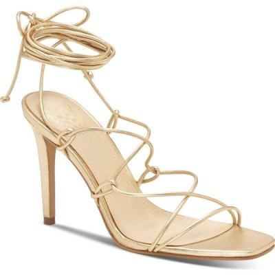 ヴィンス カムート Vince Camuto レディース サンダル・ミュール シューズ・靴 Natola Strappy Dress Sandals Gold