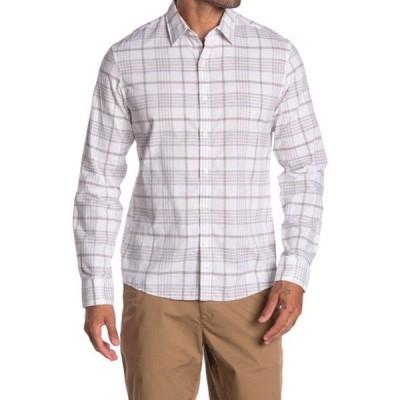 マイケルコース メンズ シャツ トップス Slim Fit Plaid Shirt MIDNIGHT