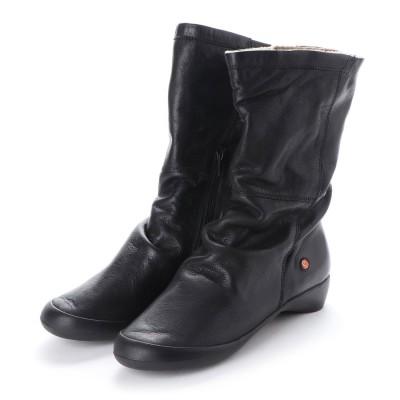 ヨーロッパコンフォートシューズ EU Comfort Shoes Softinos ミドルブーツ(900.342) (ブラック)