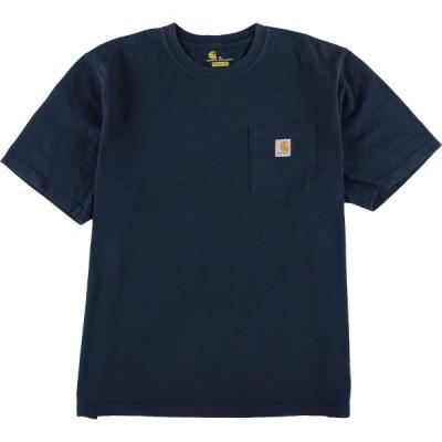カーハート ワンポイントロゴポケットTシャツXL /eaa023278