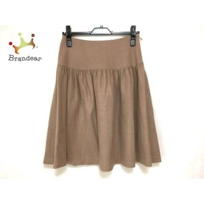 エムズグレイシー M'S GRACY スカート サイズ38 M レディース ライトブラウン 新着 20201113