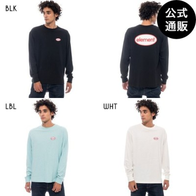 OUTLET ELEMENT メンズ NAME PATCH OLDIES LS ロンT 2020年春夏モデル
