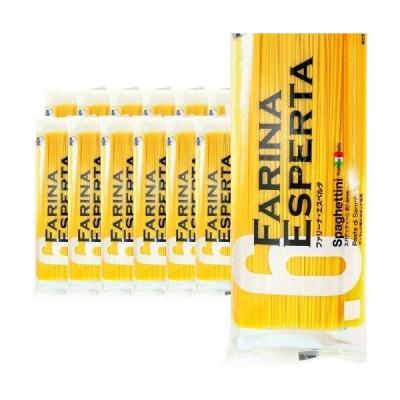 12袋セット パスタ ファリーナ エスペルタ スパゲッティーニ 1kg 1.6mm