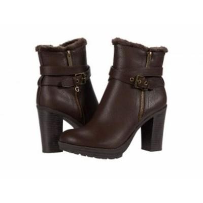 GUESS ゲス レディース 女性用 シューズ 靴 ブーツ アンクル ショートブーツ Kavin Brown 1【送料無料】