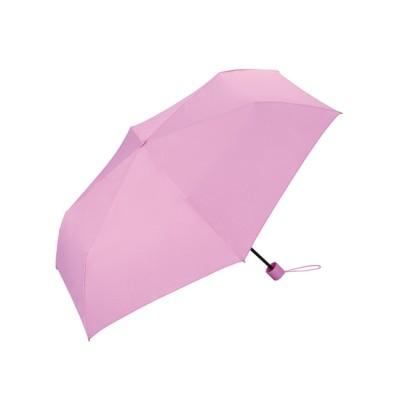 Wpc. (ダブリュピーシー) レディース 【折りたたみ傘】unnurellamini55 ピンク ONESIZE