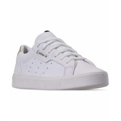 アディダス レディース スニーカー シューズ Sleek Casual Sneakers from Finish Line White