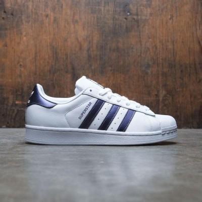 アディダス Adidas レディース スニーカー シューズ・靴 uperstar W white/purple night metallic/footwear white