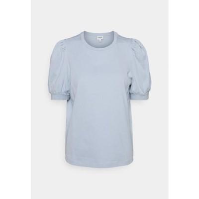 ヴェロモーダ レディース ファッション VMKERRY - Basic T-shirt - blue fog
