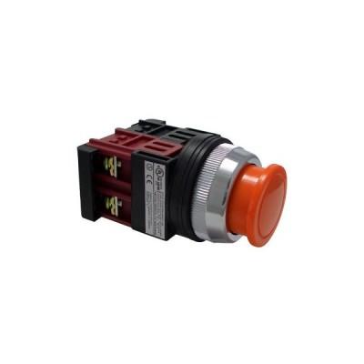 30Φ 小きのこ形スイッチ マルヤス電業 A30PM01O