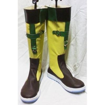 Gargamel コスプレ靴 FF10 ファイナルファンタジー リュック コスプレブーツm227