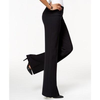 スタイルアンドコー カジュアルパンツ ボトムス レディース Stretch Wide-Leg Pants Deep Black