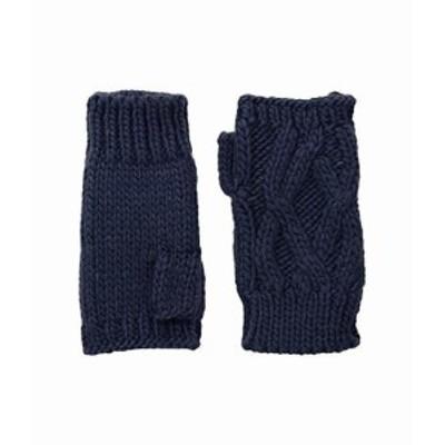 サン ディエゴ ハット カンパニー レディース 手袋 グローブ KNG3495 Cable Knit Fingerless Gloves