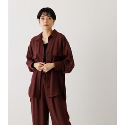 【50%OFF】 LOOSE POCKET SHIRT/ルーズポケットシャツ WOMENSレディース