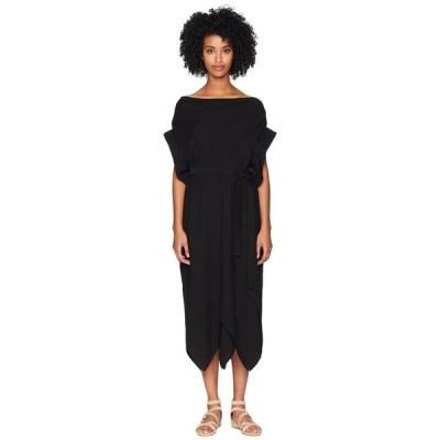 リミフー レディース ワンピース トップス Rhombus Short Sleeve Tie Front Dress