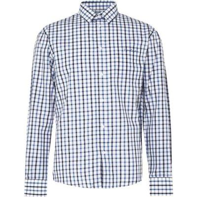 ピエール カルダン Pierre Cardin メンズ シャツ トップス Long Sleeve Shirt Navy/Blue/Wht