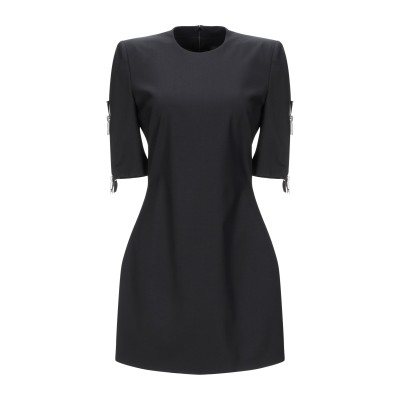 ディースクエアード DSQUARED2 ミニワンピース&ドレス ブラック 38 バージンウール 95% / ポリウレタン 5% ミニワンピース&ドレス