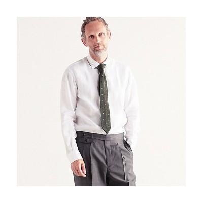 <TOMORROWLAND (Men)/トゥモローランド> サハラ セミワイドカラーシャツ ALBINI 11ホワイト【三越伊勢丹/公式】