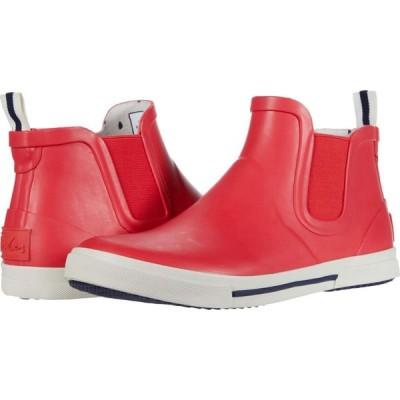 ジュールズ Joules レディース レインシューズ・長靴 シューズ・靴 Rainwell Red