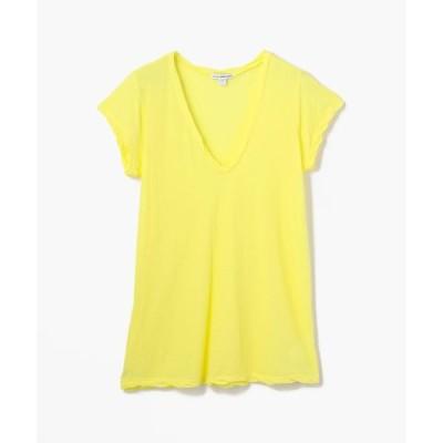 【JAMES PERSE】ハイゲージ VネックTシャツ WEK3182
