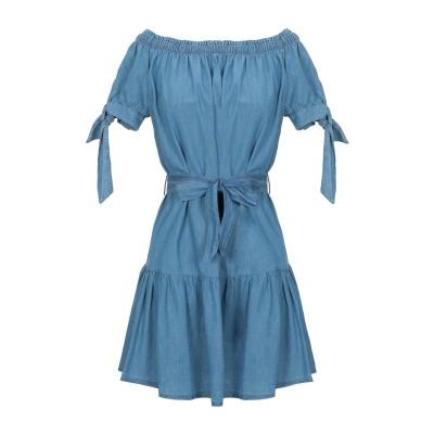 FLY GIRL ミニワンピース&ドレス パステルブルー XL コットン 100% ミニワンピース&ドレス