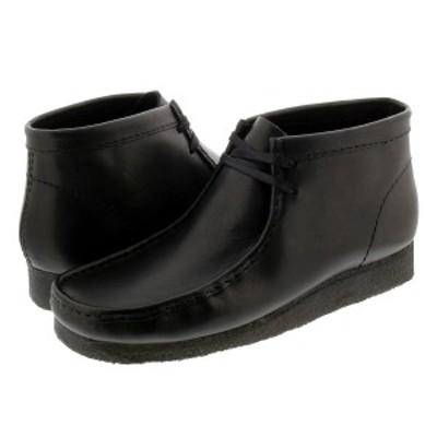 CLARKS WALLABEE BOOT クラークス ワラビー ブーツ BLACK 26155512