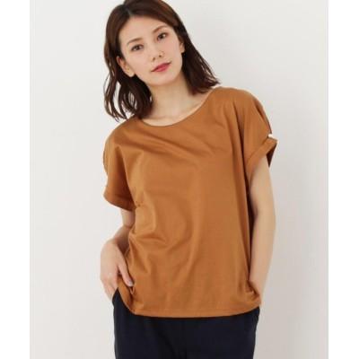 DRESKIP ドレスキップ お袖タックパールTシャツ