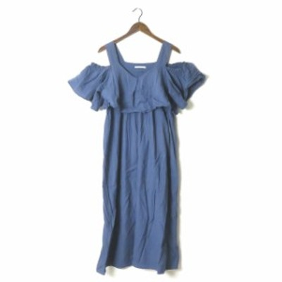 ne Quittez pas ヌキテパ Cotton/linen solid gather dress ソリッドギャザードレス 010581029 オフショルダー ワンピース