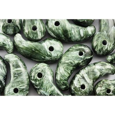 勾玉 置き石 勾玉 L セラフィナイト (3.5cm) 天然石 パワーストーン