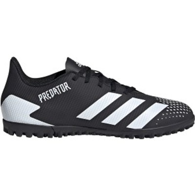 アディダス メンズ サッカー スポーツ adidas Men's Predator 20.4 Turf Soccer Cleats Black/White