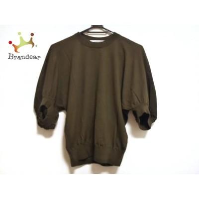 ジバンシー 半袖セーター サイズXS レディース - カーキ クルーネック/ドルマンスリーブ 新着 20210110